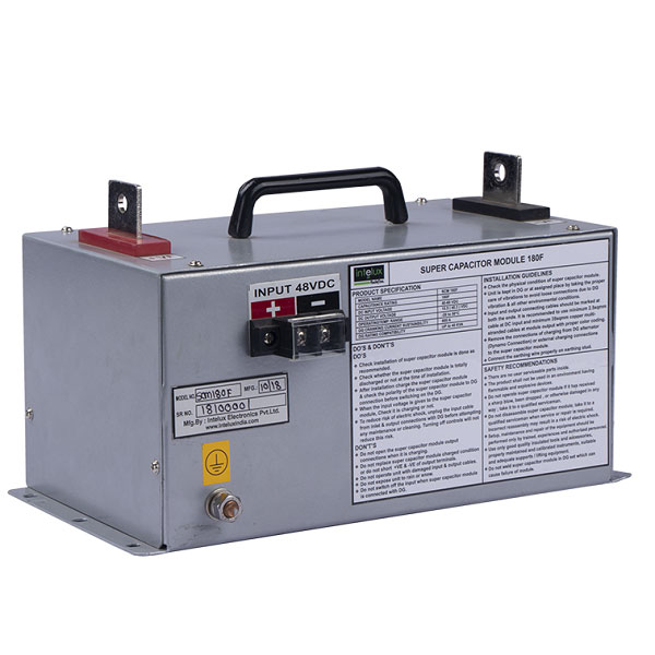 Super Capacitor Modules and Charger/DG Cranking Unit