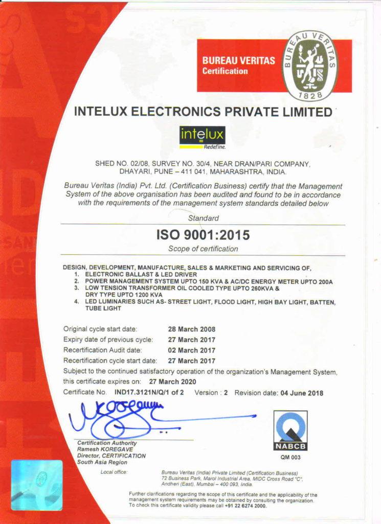 About - Intelux Electronics Pvt  Ltd